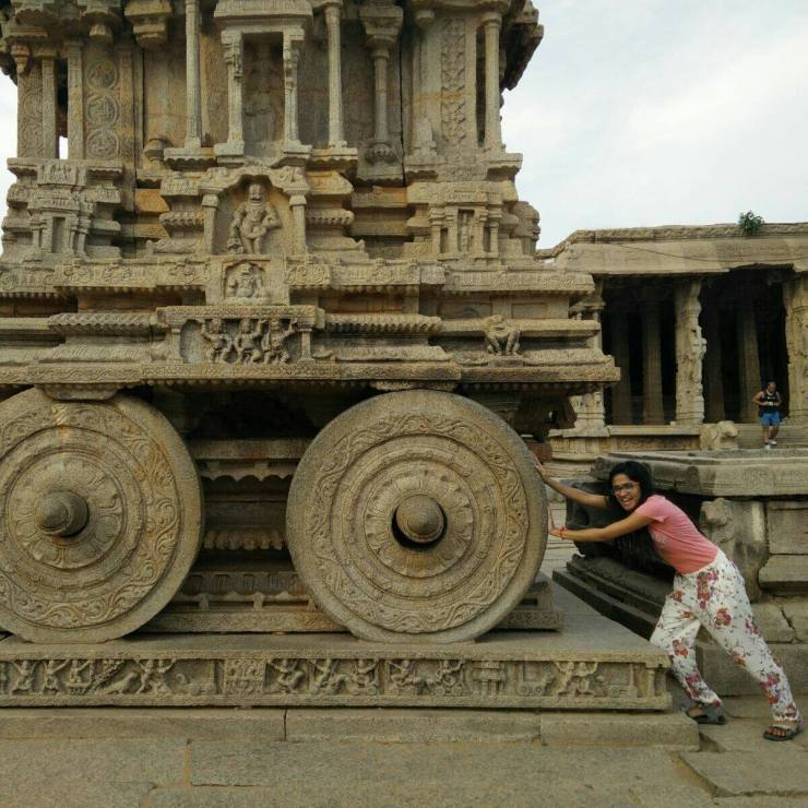 hampi vijay vitthala temple rath