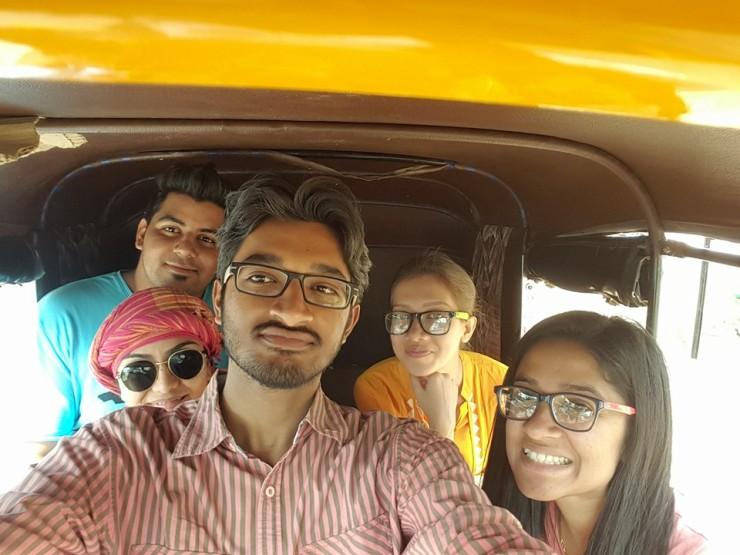 hampi rikshaw trip